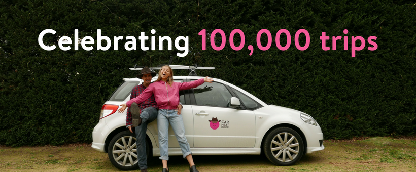 100,000 Car Next Door trips - we're changing the way Australia travels