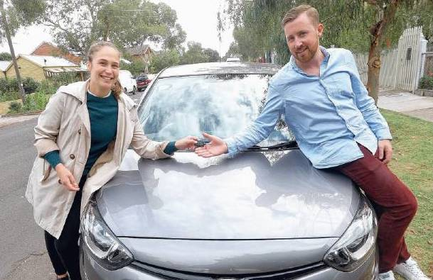 Meet Lucie and Stuart: two car-sharing neighbours from Melbourne