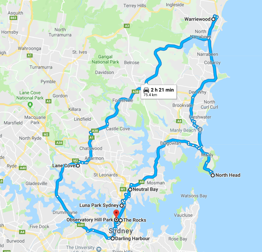 Road-Trip-One-Sydney-Northside-things-to-do
