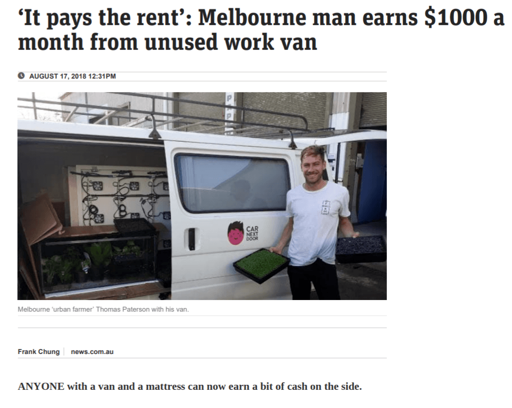 Man-earns--1000-a-month-renting-out-van