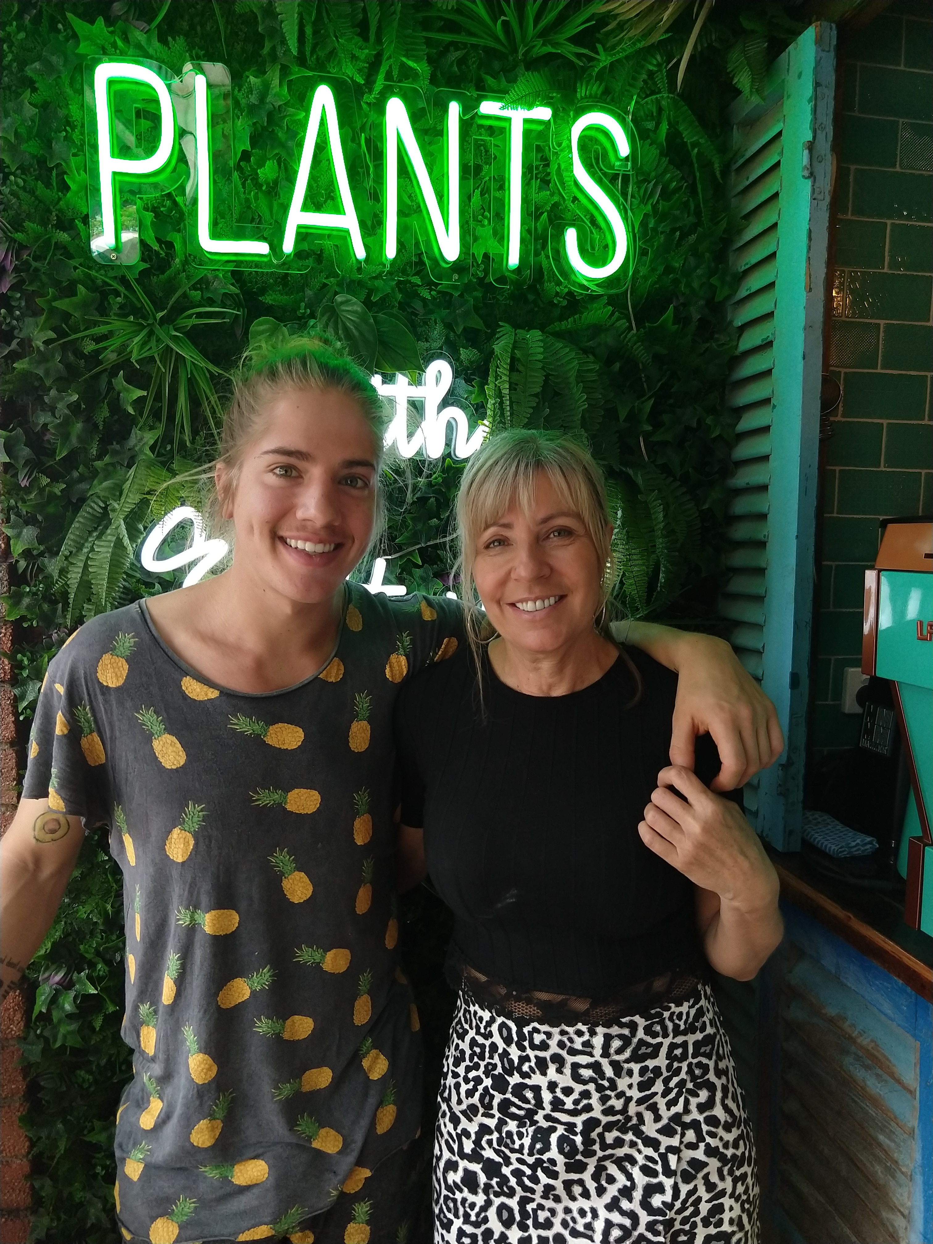Keeping it in the family - Jansen and Deb on running a vegan cafe and sharing their car
