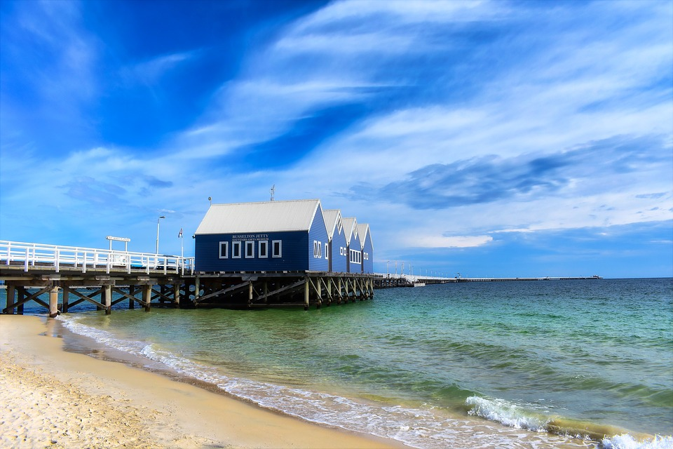 Sea-Water-Beach-Jetty-Busselton-Sand-Sky-3235930